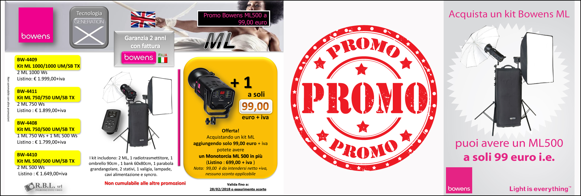 BOWENS promo