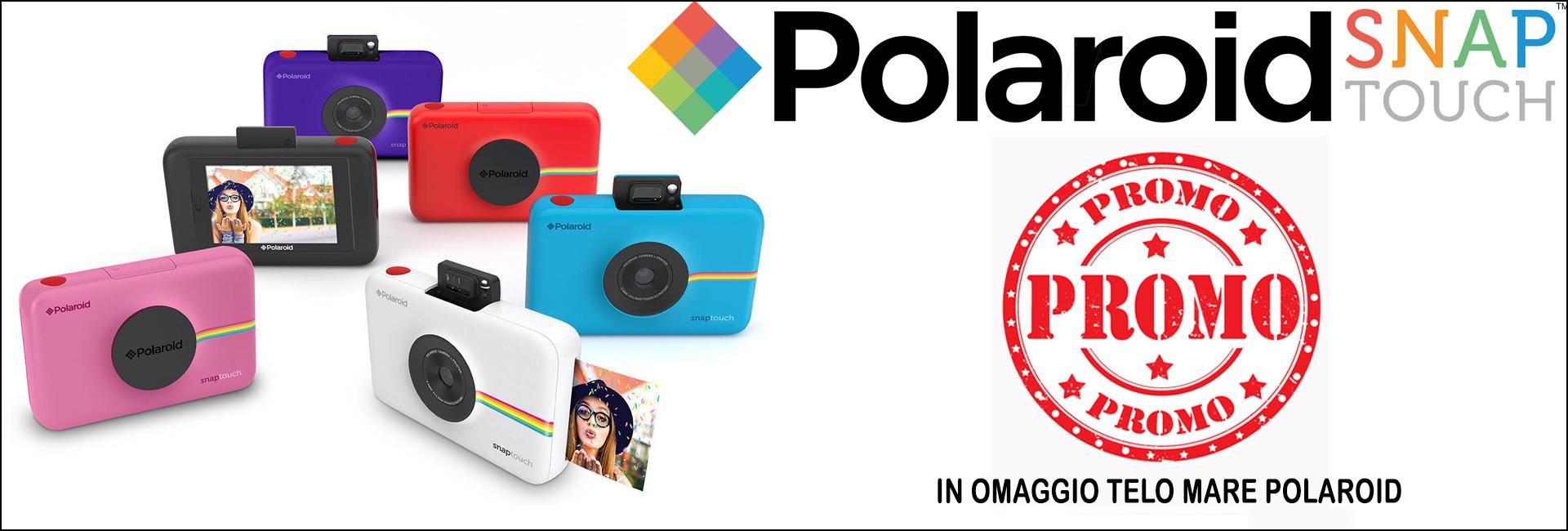 Promo Polaroid snap touch